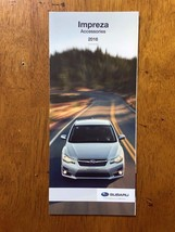 2016 Subaru Impreza Accessories catalog sales brochure booklet - $4.99