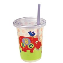 The First Years 3 Pack ABC Fun Take & Toss Straw Cup, Colors May Vary Di... - $11.35