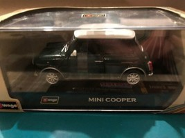 Bburago Mini Cooper 1:32 Scale Diecast Car Model Street Classics - $26.99