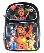Balloons by Five Nights at Freddys Large Backpack 16'' inches Boys Schoo... - $39.59