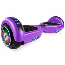 UL2272 6.5'' Self Balancing Scooter with Built-in BT Speaker (Matte Purple) - $99.00