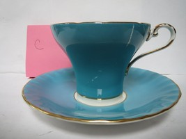 AYNSLEY TEA CUP AND SAUCER              C - $30.00
