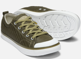 Keen Elsa II Quilted Sz US 7 M (B) EU 37.5 Women's Sneakers Shoes Martini Olive - $46.99