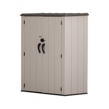 Lifetime Vertical Storage Shed Kit w/ Floor (60280) - $357.93