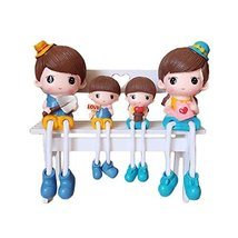 George Jimmy Creative Home Decorations Cute Cartoon Lovers Desktop Decorations C - $36.65