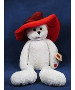 Chantilly Lane Musical SUZIE Bear Red Velvet Hat Girls Just Want To Have... - $28.70
