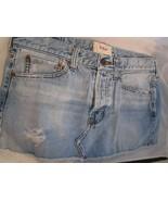 Vintage Junior Girls Vintage Hollister Denim Mini Skirt Size 9 Rare Gently Used - $29.99