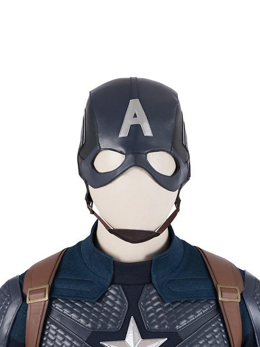 Customize Avengers: Endgame Captain America Avengers IV Uniform Cosplay Costume