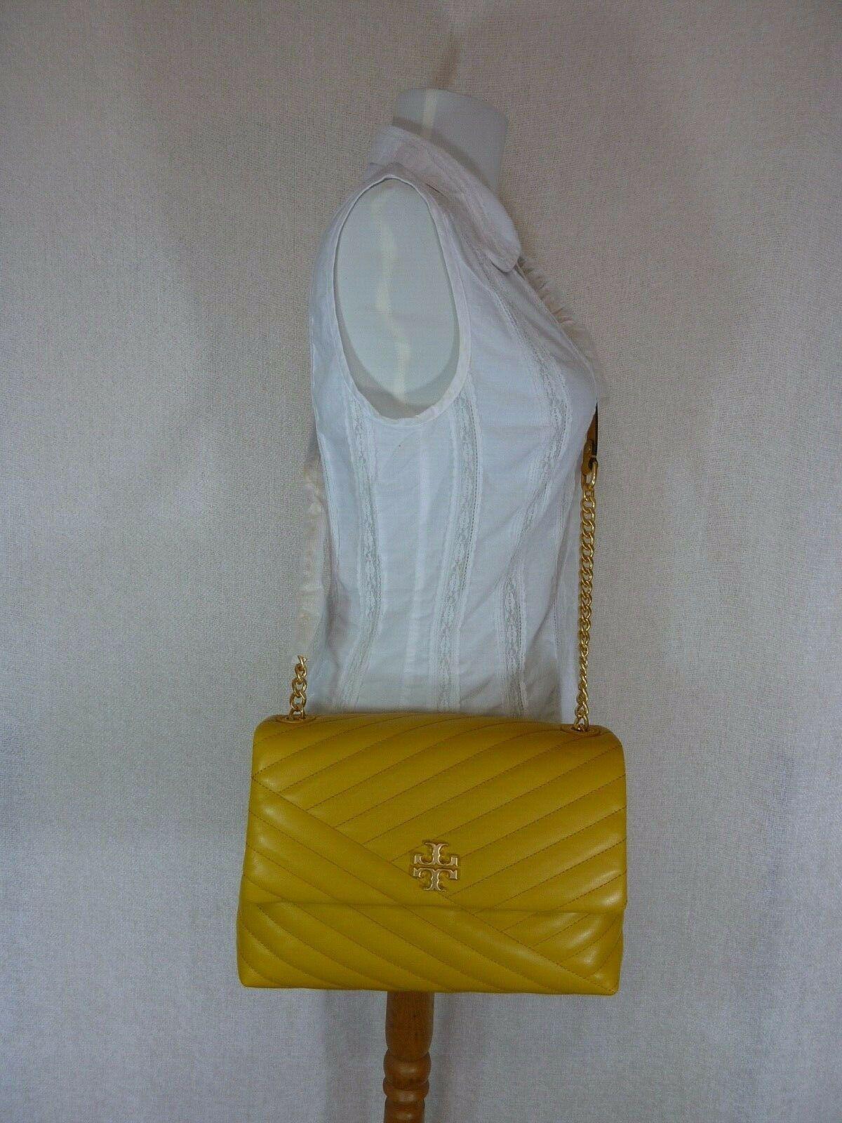 NWT Tory Burch Daylily Kira Chevron Flap Shoulder Bag $528 image 10