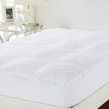Concierge Collection Cotton Touch Fiberbed Bed Mattress Pad QUEEN - $59.39