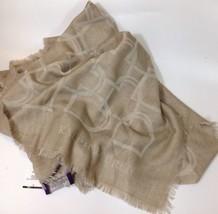 Ralph Lauren Damen Beige Kaschmir/Wolle Schal - $415.88