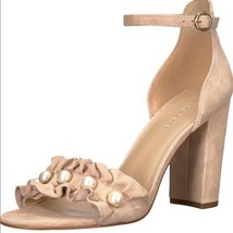Marc Fisher King Pearl Ruffle Sandals US 8 M - $49.49