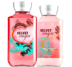 Bath & Body Works Velvet Sugar Body Lotion + Shower Gel Duo Set - $26.41