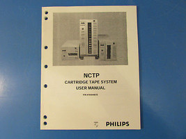 Philips NCTP 97658488 B Cartridge Tape System User Manual - $11.30