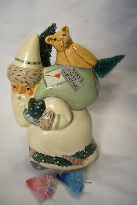 Vaillancourt Folk Art, Baby's First Christmas Signed by Judi Vaillancourt