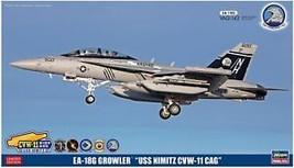 Hasegawa 1:72 US Navy EA-18G Guraura USS Nimitz CVW-11 CAG Model SP369 - $69.56