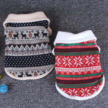 Christmas Dog Clothes Winter Pet Clothes for Small Dogs Coats Warm Dog S... - $555,99 MXN