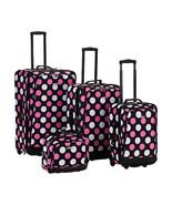 4 Piece Escape Luggage Set Multicolor OSFA Travel Vacation Rolling Suitc... - $103.59