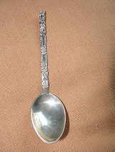 Alaskan Totem Pole Sterling Silver collector spoon, souvenir, old - $48.93