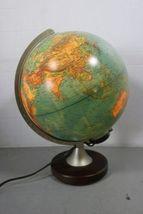 Columbus Verlag Paul Oestergaard Duplex Light Up World Globe Lamp Earth image 3