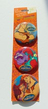 Fun Button Pins - Collector Pack Disney Hercules - Pinback - 1994 - New - $10.00