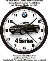 2014 BMW 4 SERIES WALL CLOCK-CHOOSE 1 OF 2-Mercedes Benz, Lexus, Volvo - $26.72+