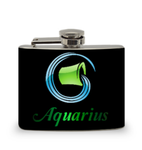 Aquarius 4 oz Hip Flask - $10.45