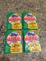 TOPPS Four 1990 Spring Fever Baseball Card Bubblegum Packs #56 - $8.89