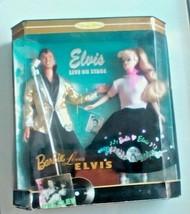 Barbie Loves Elvis Gift Set Doll Collectors Edition 1996 Mattel #17450 - $34.65