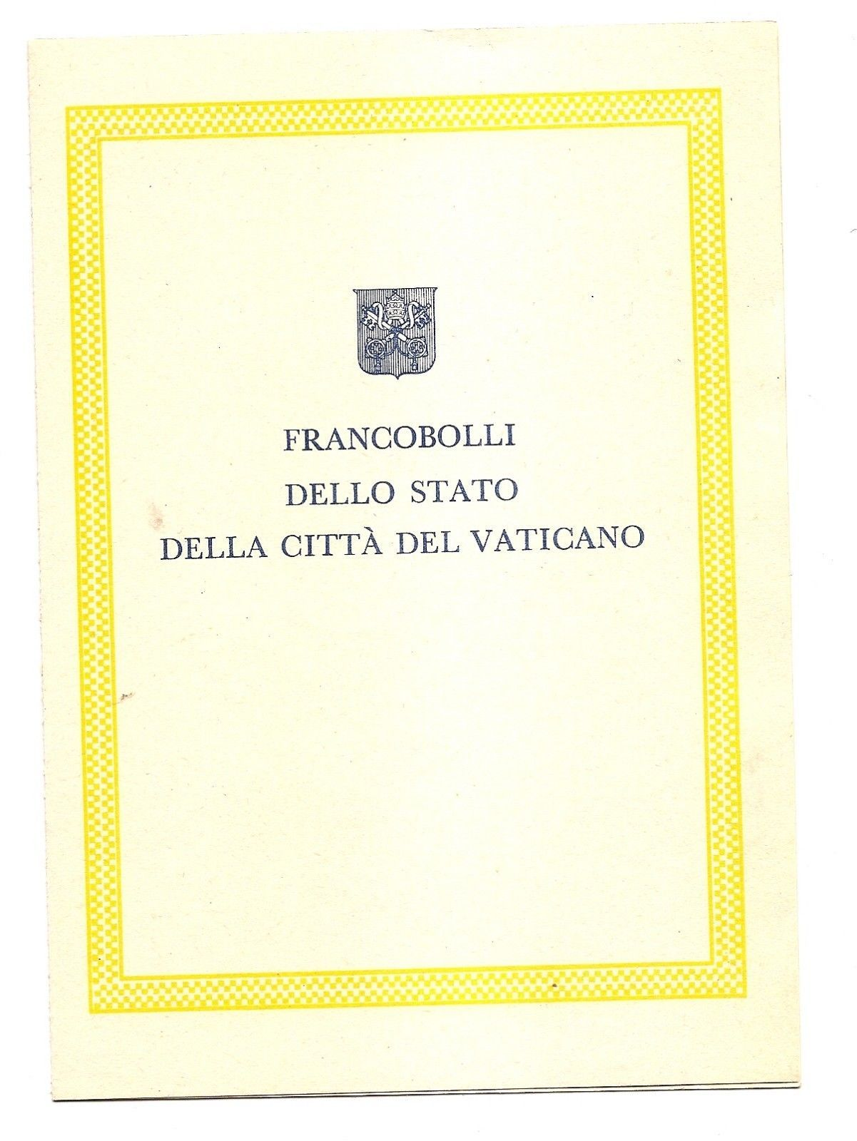 VATICAN CITY - First Day Folders - 1960 - 2 issues image 4