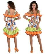 """80's style Tropical """"CONGA"""" Dress - Miami , Gloria Estefan , sizes 6 - 22 - $42.87"""