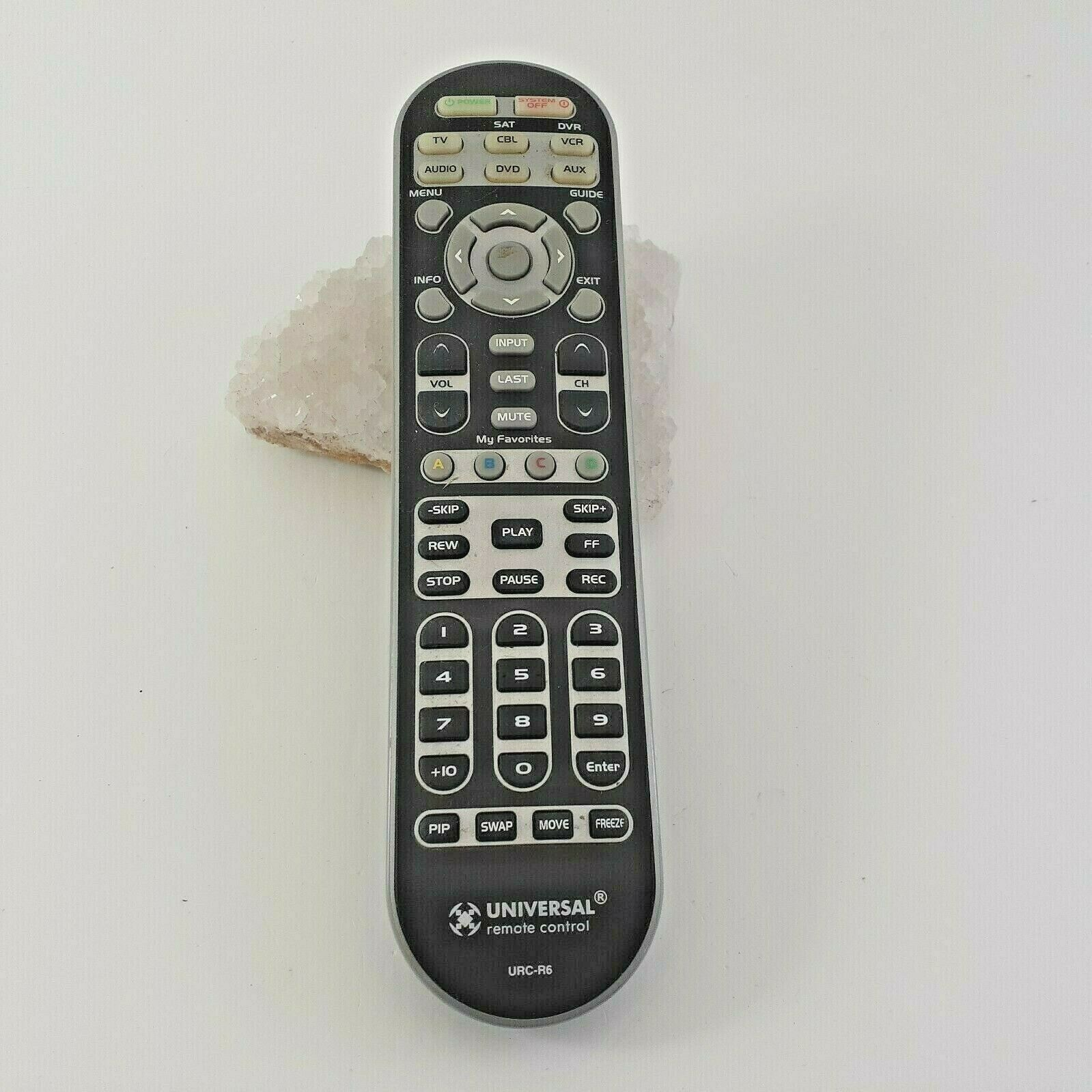 Avex Universal URC-R6 Learning Remote Control