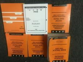 2000 Dodge Ram Truck 1500 2500 3500 Service Shop Parts Manual Set W Diag... - $138.55
