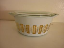 Vintage Pyrex Gourmet Casserole Dish Cinderella Bowl 475-B 2.5 Quart w/ ... - $24.74