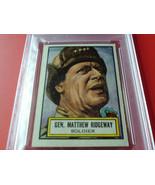 1952  TOPPS   #  35    GEN.  M.  RIDGWAY   LOOK ' N  SEE    PSA  6    EX... - $39.99