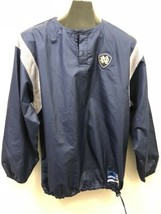 adidas University of Notre Dame Jacket Pullover Rain Resistant Men's Blu... - $14.84