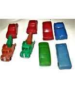 Vintage Toy Cars from the 50's (8 Cars and toy Trucks) - $4.90