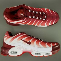 Nike Air Max Plus TN After The Bite Athletic Shoes Mens Size 13 Red White - $168.29