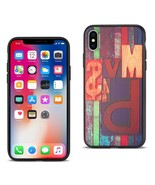 Reiko iPhone X/iPhone XS Embossed Wood Pattern Design TPU Case With Mult... - $9.40