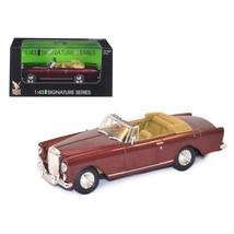 1961 Bentley Continental S2 Park Ward DHC Convertible Burgundy 1/43 Diec... - $22.66