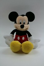 Disney Mickey Mouse Plush Just Play Soft Classic Mickey - $9.85