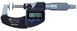 Mitutoyo 323-251-30 Digital Disc Micrometer IP65 25-50mm - Brand New - $529.99