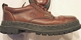 Gorgeous Men's Brown Leather Lace Up Oxford Shoes  - Timberland 7.5 M - $23.01