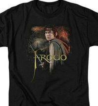 Lord of the Rings Frodo Baggins Ring bearer Elijah Wood graphic t-shirt LOR1021 image 3