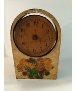 Vintage Headstone Mantel Shelf Clock Junghans Wurttemberg for Parts Rest... - $24.70