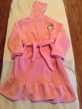 Girls Size 6 Princess Sanrio Hello Kitty robe plush hoodie long sleeves ... - $18.99