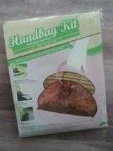 "Prym-Dritz ""Erica"" Handbag Kit Pattern Handles Iron Cut Sew NIP  - $13.09"