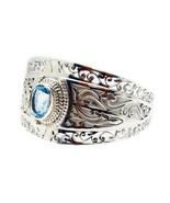 Blue Topaz 925 Sterling Silver resplendent jaipur Bracelet gift UK - $197.49