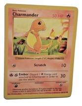 Pokemon Card - Charmander (46/102) 1999 WOTC SHADOWLESS BASE SET ***NM*** - $2.99