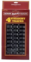 "Bachmann Industries Large ""G"" Scale - Straight Steel Alloy Track (4 Piece) - $38.75"